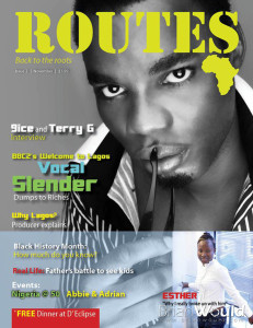 Vocal Slender Magazine Cover